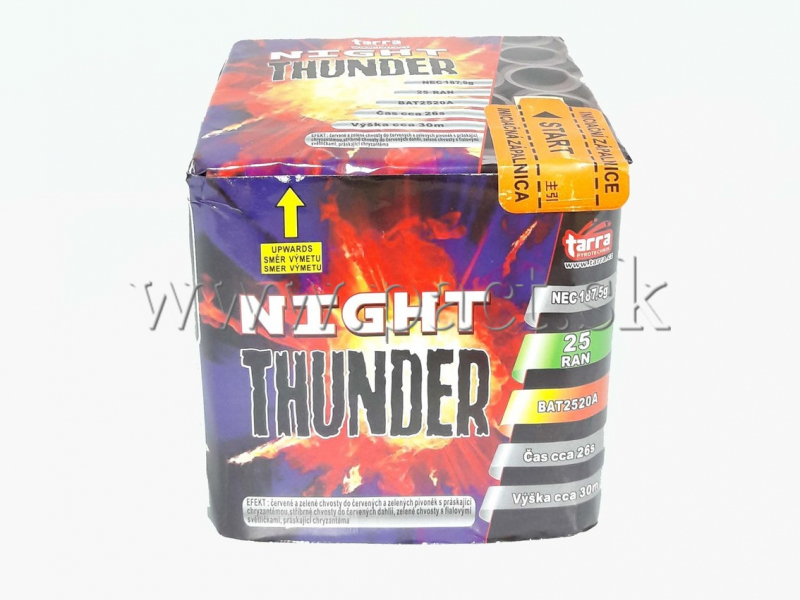 NIGHT THUNDER 25 SH