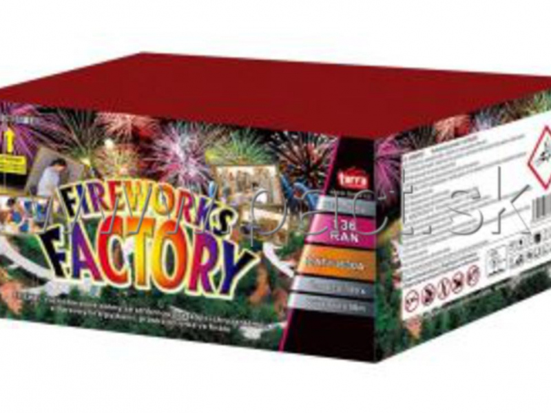 FIREWORKS FACTORY 136SH